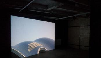 Melanie Manchot's Tracer at BALTIC 39 - photo by David Meadows