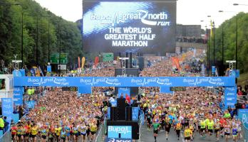 Great North Run - credit North News & Pictures